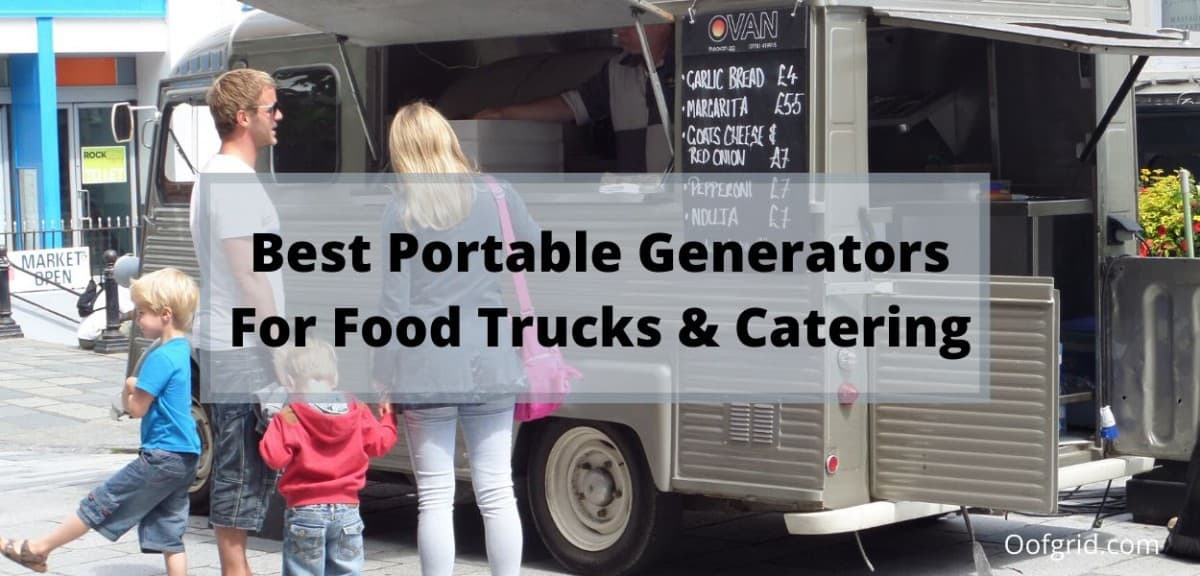 best generator for food truck