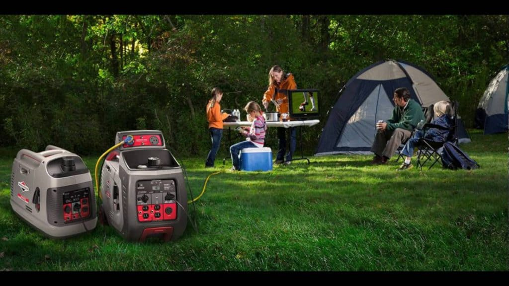 can a portable generator be covered