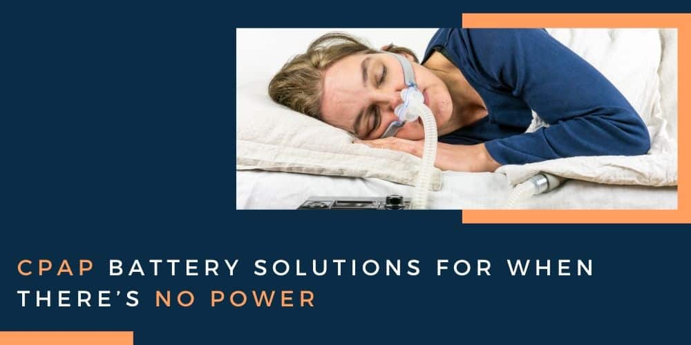 women using a CPAP machine whilst sleeping