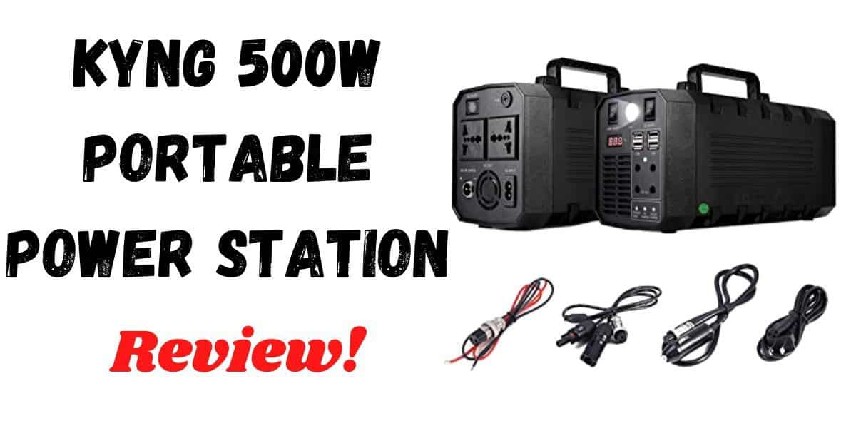 KYNG Power Solar Generator Portable Power Station 500W