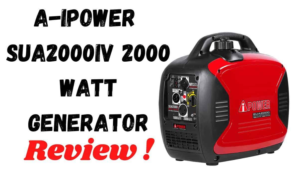 A-iPower SUA2000iV 2000-Watt Generator
