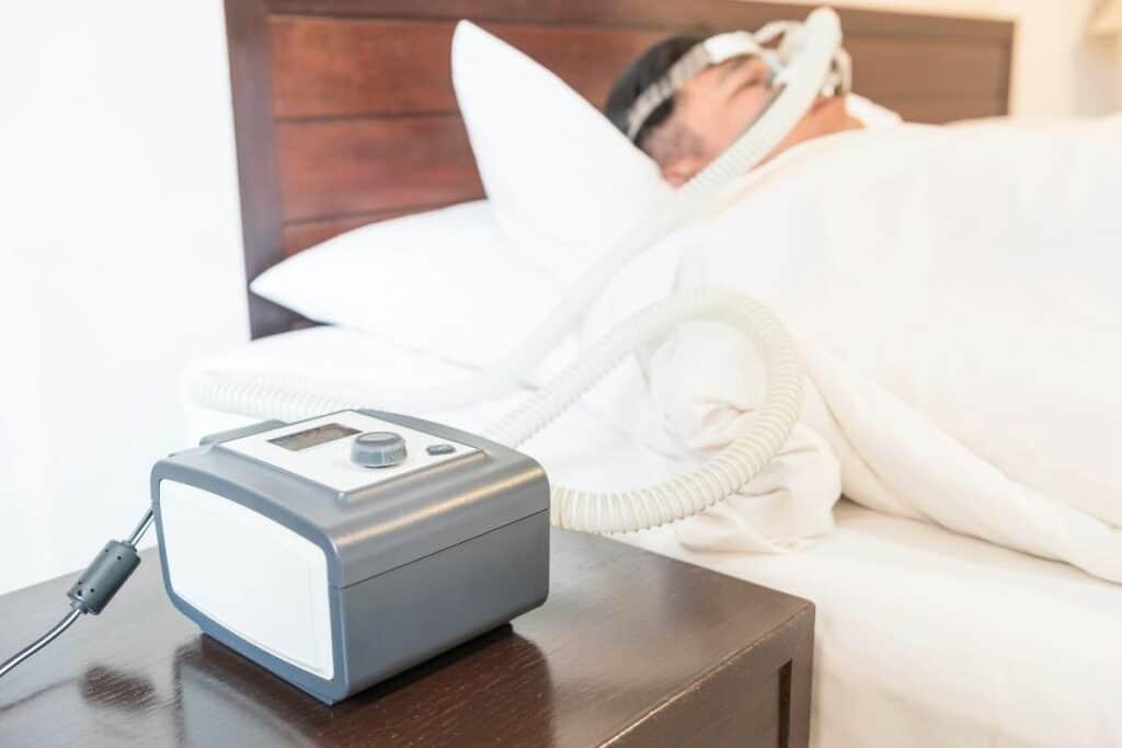 CPAP Machine when sleeping