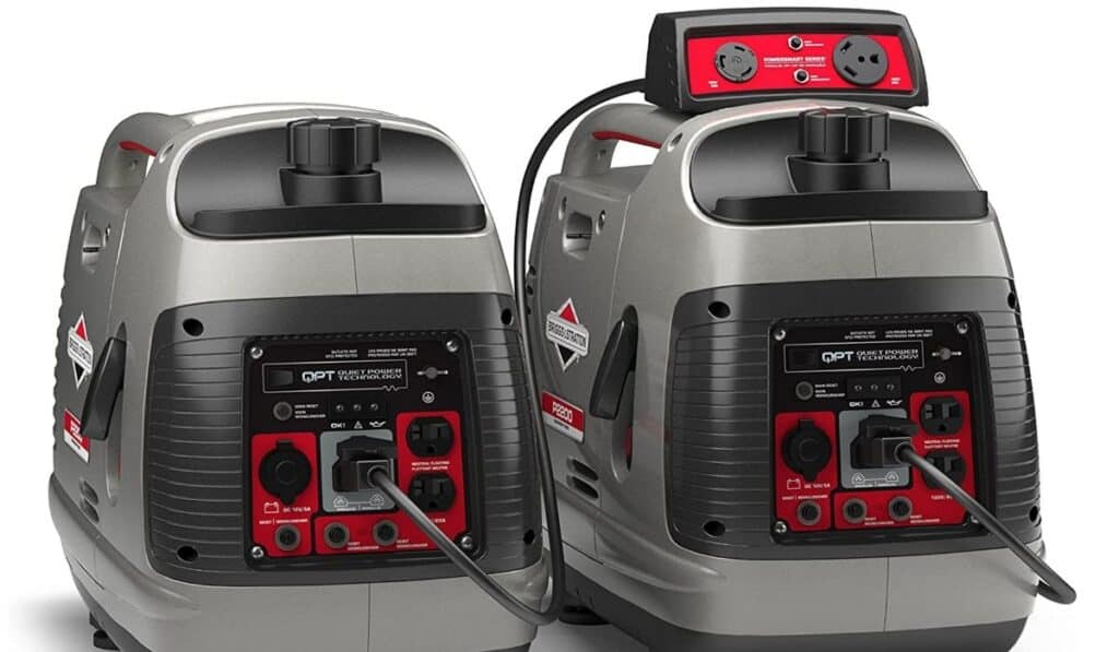 briggs and stratton parallel connection