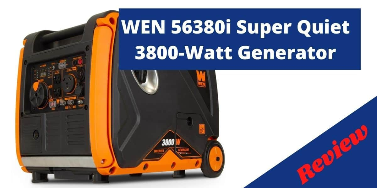 WEN 56380i Super Quiet 3800-Watt