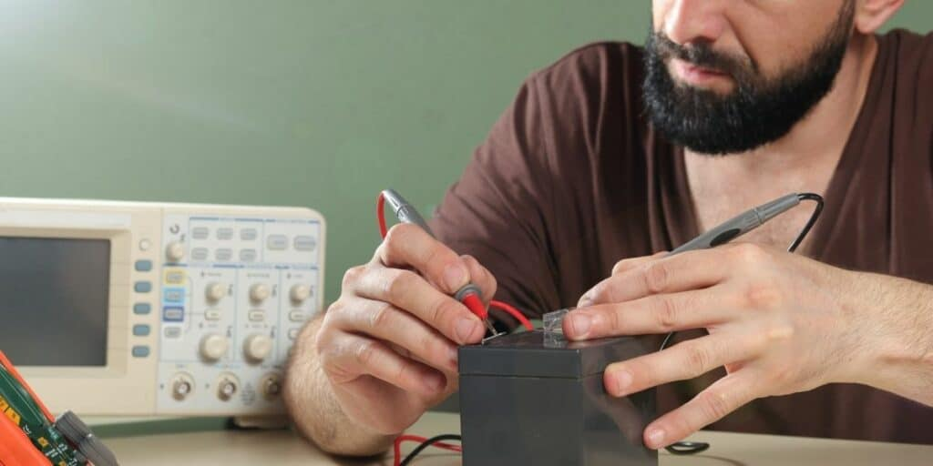testing a deep cycle battery