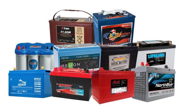 types of deep cycle batteries
