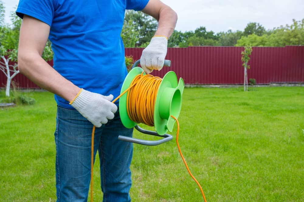 DIYs to keep your outdoor extension cords dry