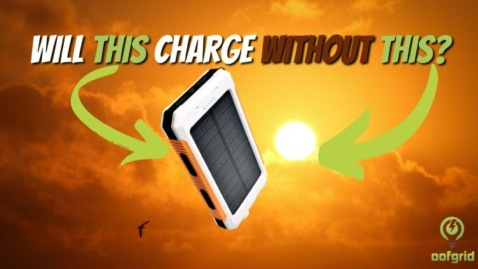 Do Solar Chargers Need Direct Sunlight